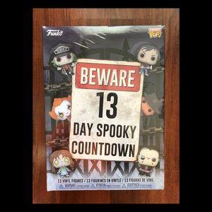 Funko Pop Spooky HALLOWEEN Advent Countdown 13 NEW